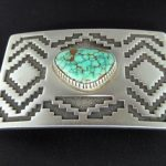 Tommy Jackson Silver Belt Buckle