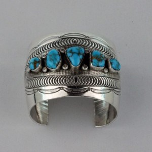 Lee Yazzie jewelry